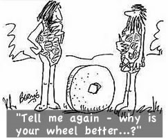 reinventint the wheel